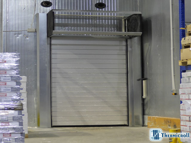 Puerta Industrial aislada Thermicroll® Spiral Door ISO 80
