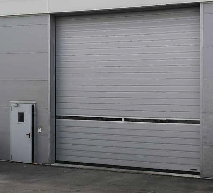 Puerta Industrial aislada Thermicroll® Spiral Door ISO 80